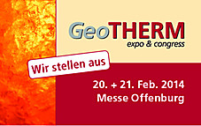 Messe GeoTHERM 2014 in Offenburg