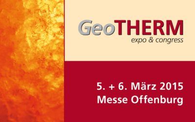 Messe GeoTHERM 2015 in Offenburg